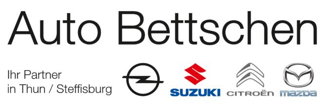 Auto Bettschen Ihr Partner in Thun/Steffisburg Opel, Suzuki, Citroën, Mazda